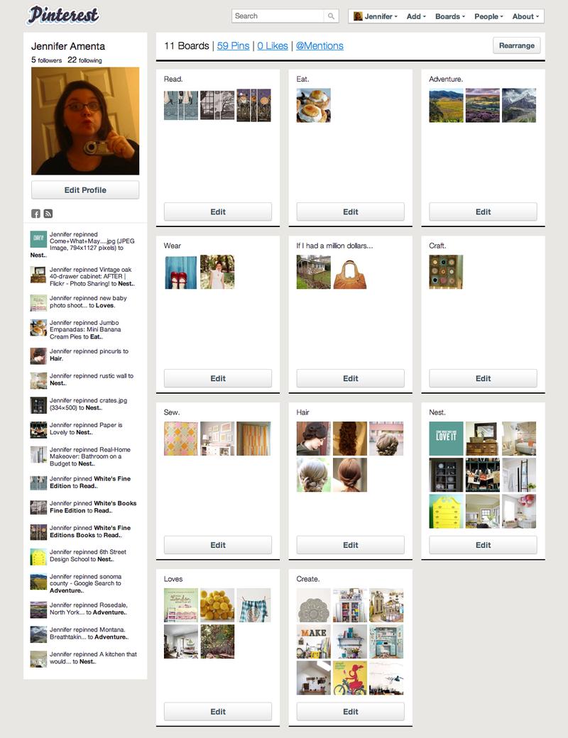 Jennifer Amenta (GehringRoad_Jen) on Pinterest (20110324)